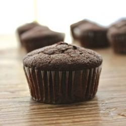 A chocolate and a vanilla cupcake recipe including a review and a comparison between a convection oven and a regular square oven.
