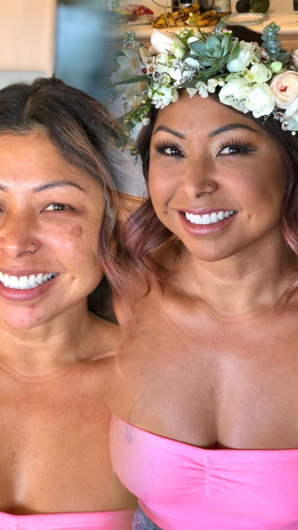 Hair AirbrushMakeup by flauntmakeovers hawaiiwedding