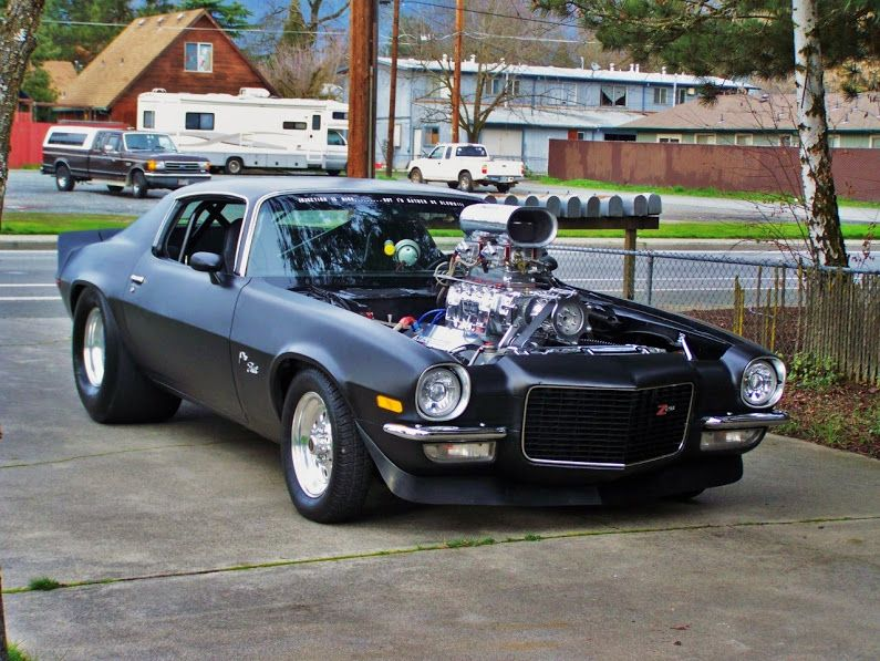 Looks Good With Big Tires A Blower Muscle Pinterest Cars
