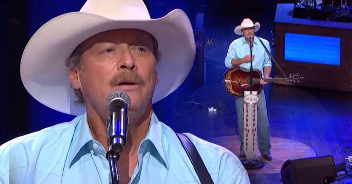 Alan Jackson Confesses His Undying Love For His Wife In Once In A