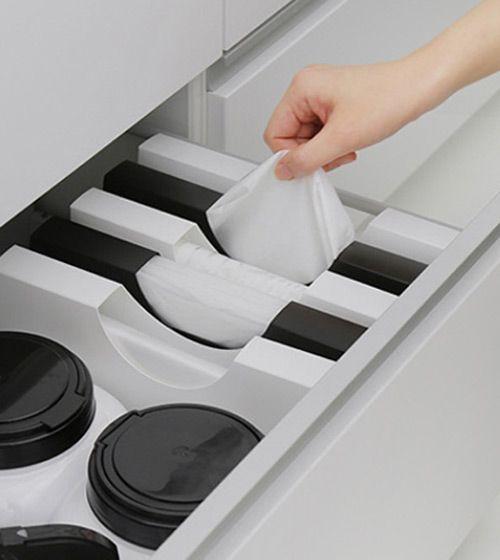 Plastic Bag Ziploc Disposable Glove Dispenser