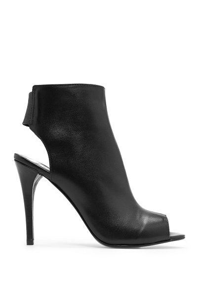 Bottines peep cuir toe cuir peep Femme Fashionista   Chaussure 053c10