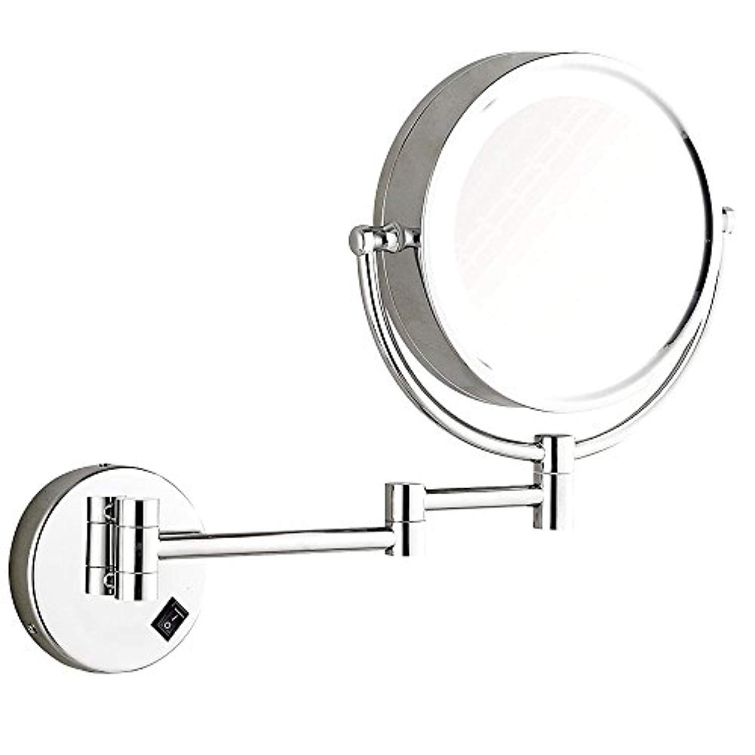 Dowry Wall Mounted Led Lighted Makeup Mirror Hard Wire To View Further For This Wall Mounted Makeup Mirror Lighted Magnifying Makeup Mirror Makeup Mirror