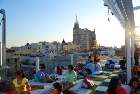 Top 11 Rooftops Of Madrid Chill Spots In Europe Madrid