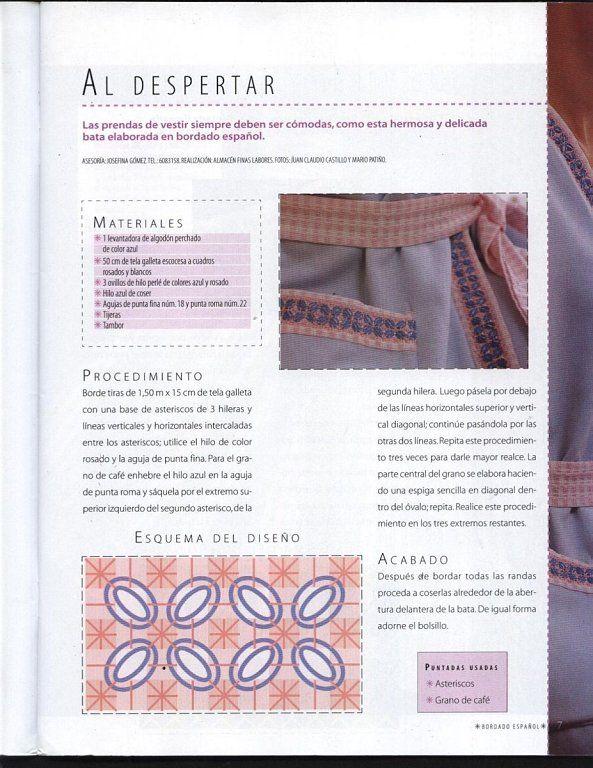SOLO PATRONES DE BORDADO ESPAÑOL | Patrones de bordado, Es facil y ...