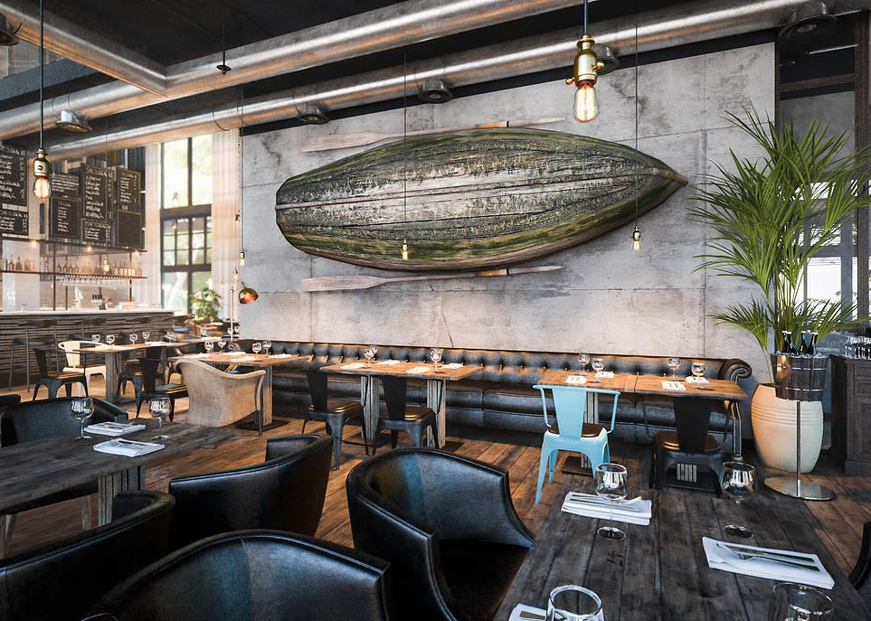 Banka Pub Interior Design By Belenko Design Studio