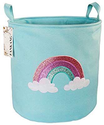 FANKANG Large Sized Gift Baskets Cute Rainbow Pattern ...