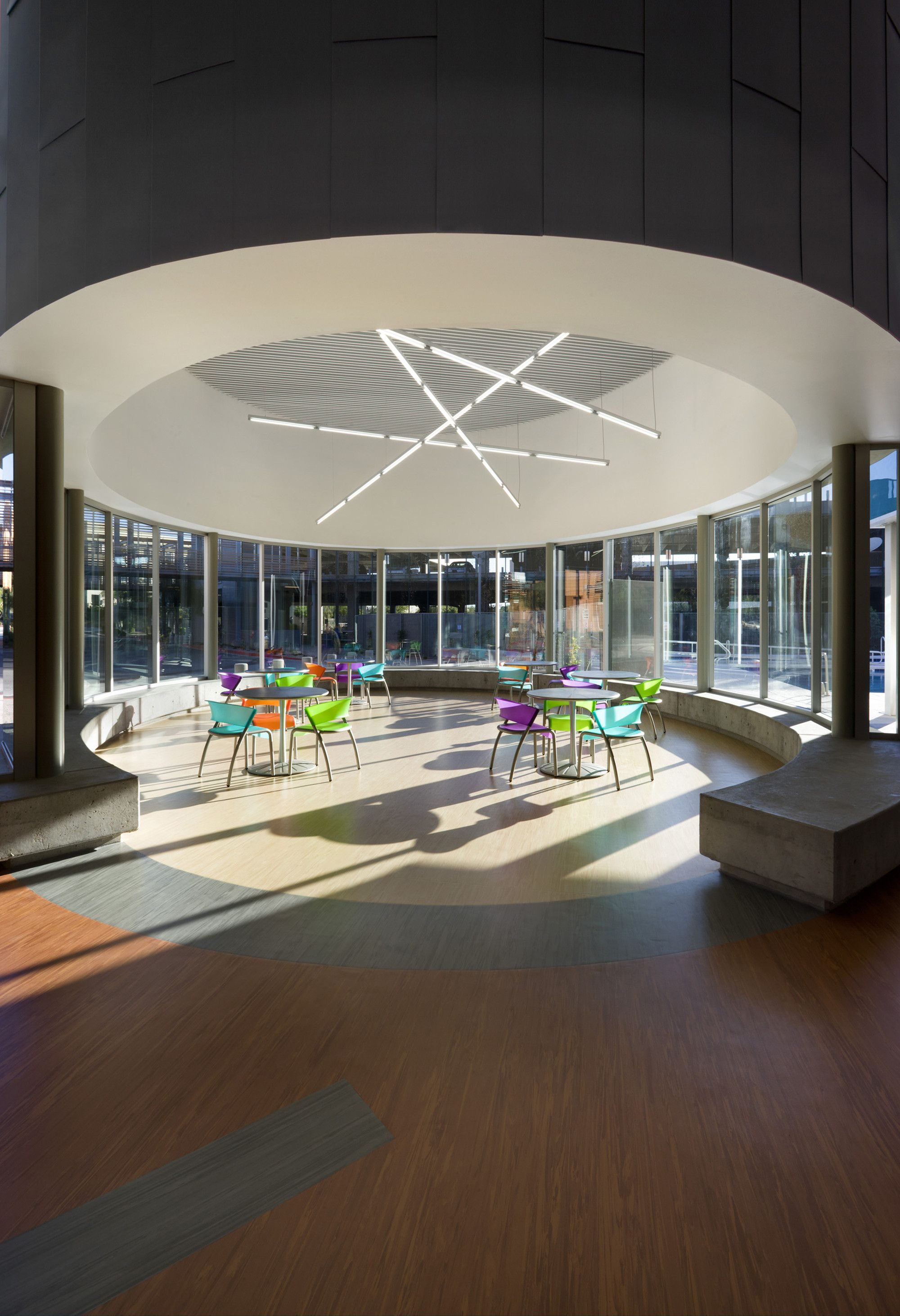 Gallery Of Sport And Fitness Center For Disabled People Baldinger Architectural Studio 3