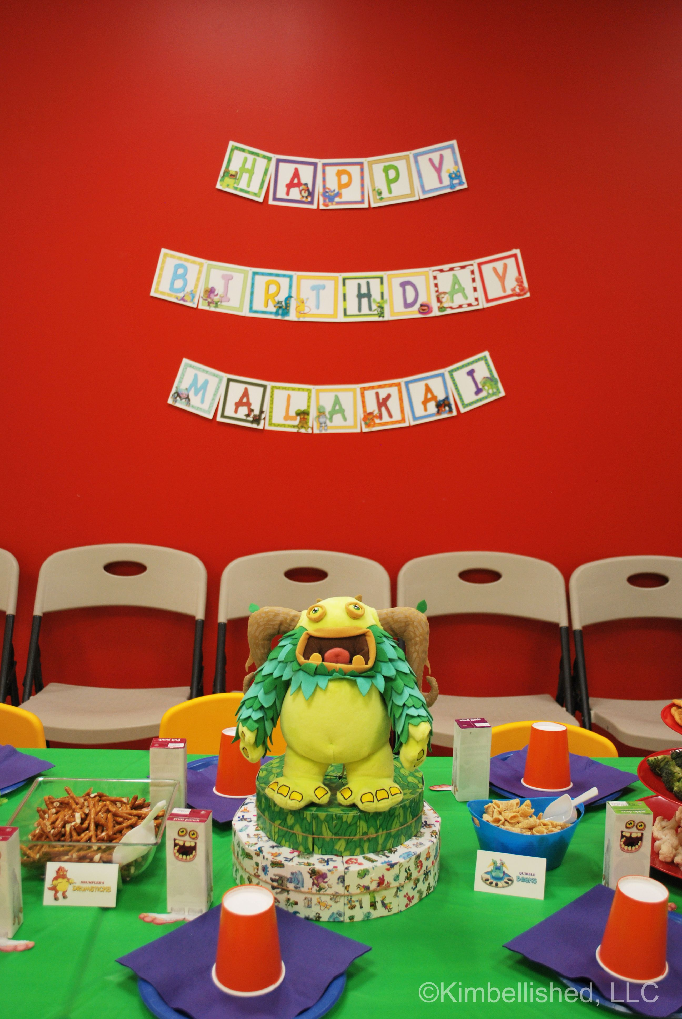 my singing monsters birthday party now with free pdf printables