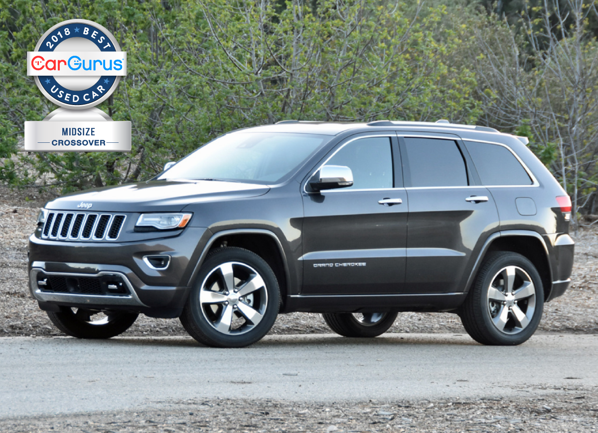 Cargurus 2018 Best Used Car Awards Goes To The Jeep Grand Cherokee
