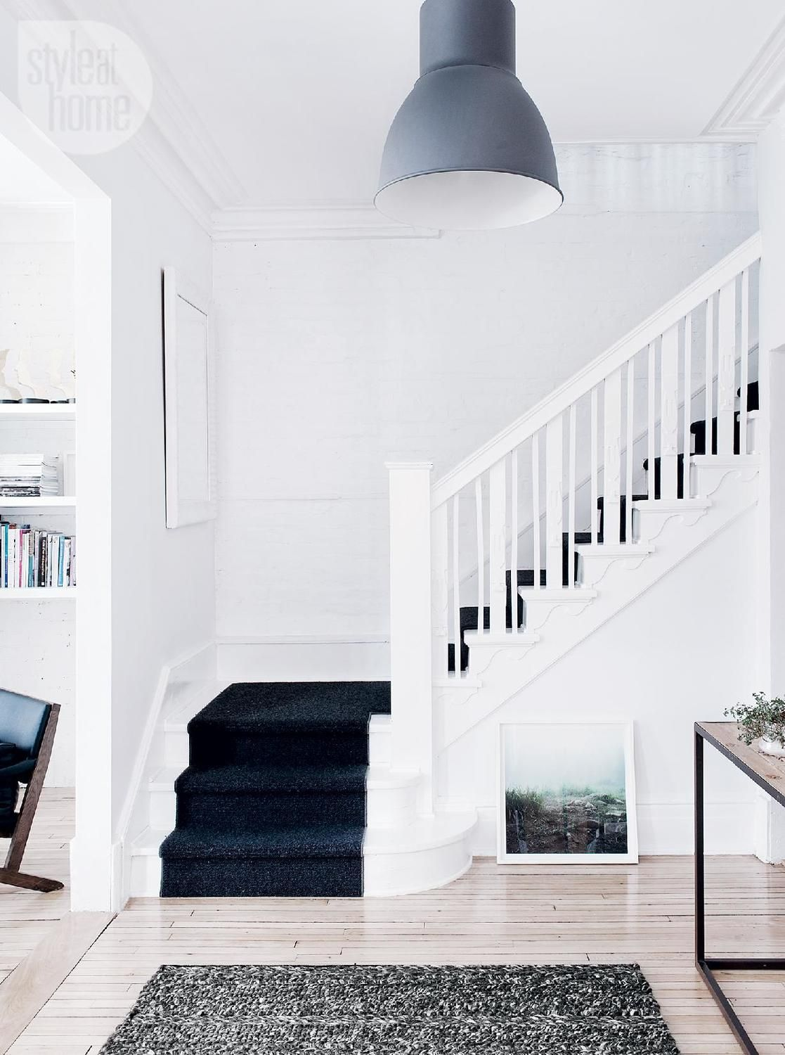 House tour: Modern monochromatic Victorian home | Style at Home