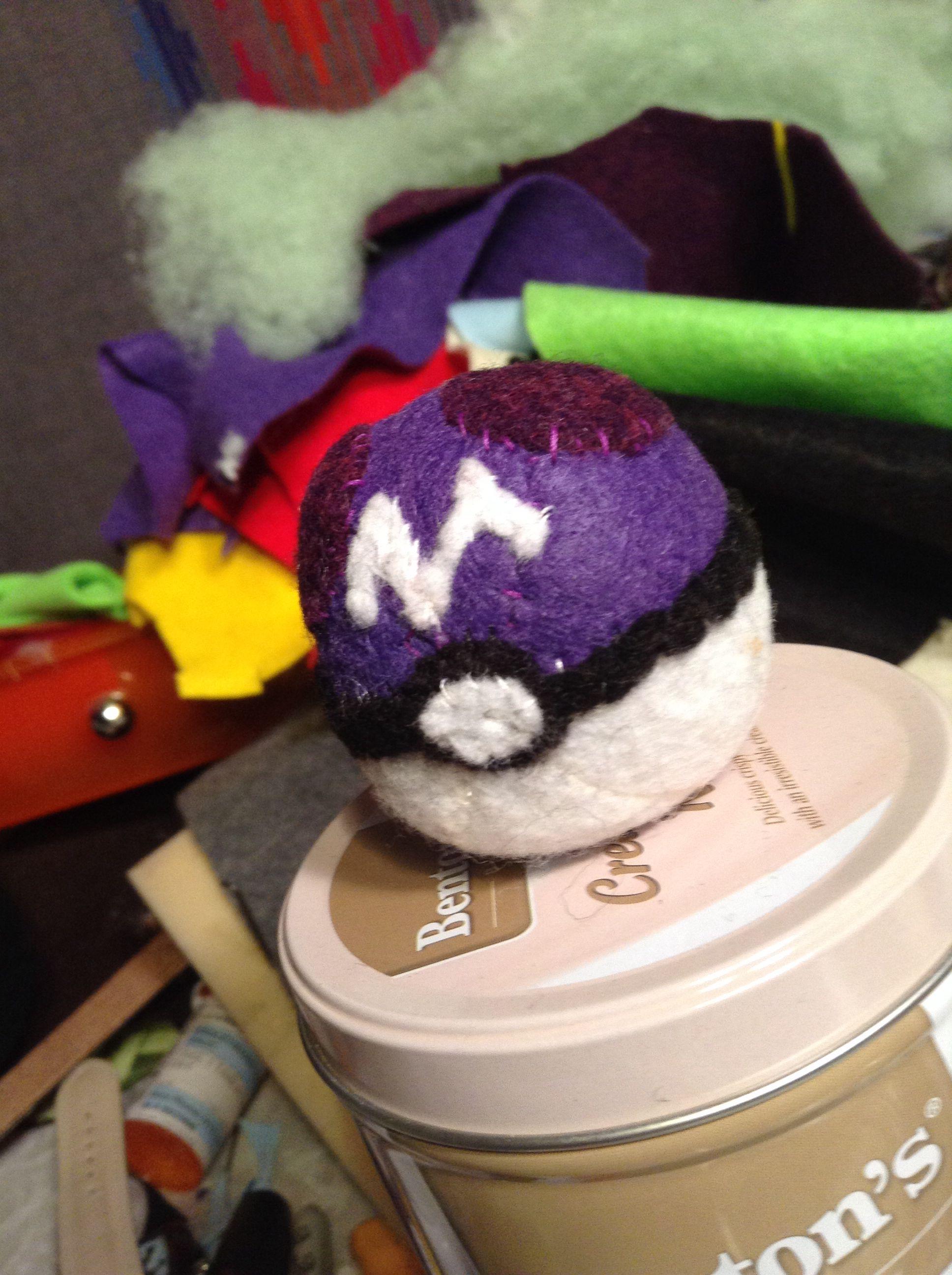 Masterball Pokemon plushie