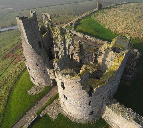 Abandoned Buildings Newcastle Uk: Dunstanburgh Castle, Northumberland