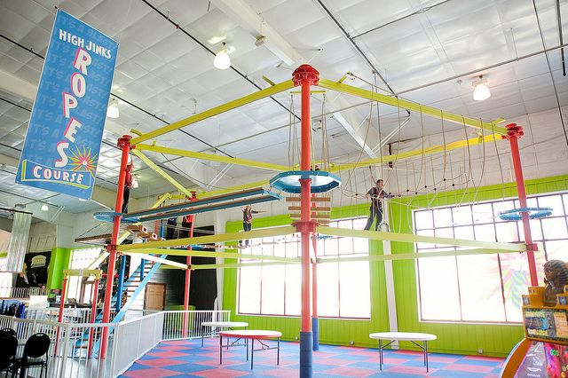 Ropes Course At Shenanigans In La Crosse Wi Ropes Course Fun Live Shenanigans