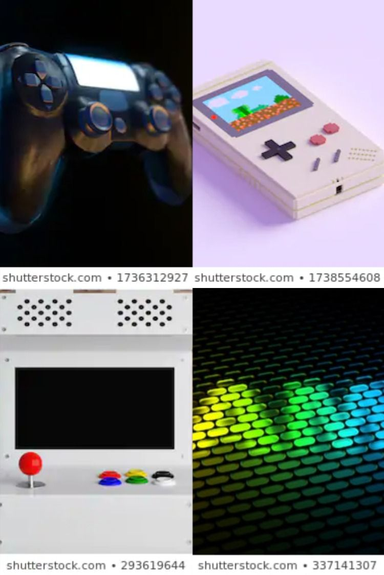 Game Console 3d Rendering Console 3d Rendering Game Console