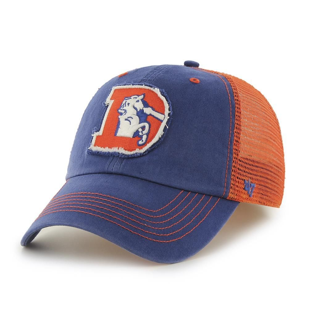 9d52acac3fe2b Men s  47 Brand Denver Broncos Relaxed Fitted Hat
