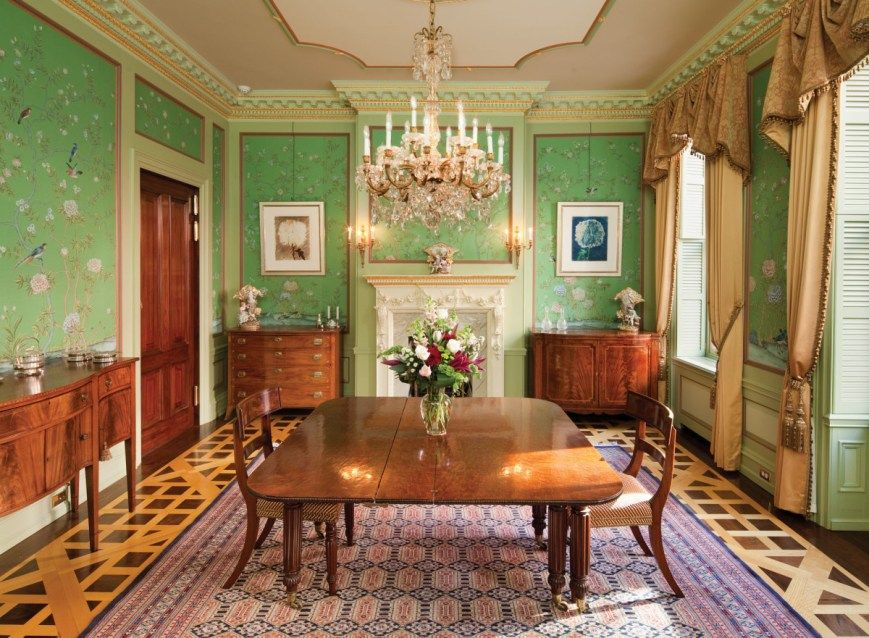 30 Awesome Picture of Chinoiserie Dining Room (With images