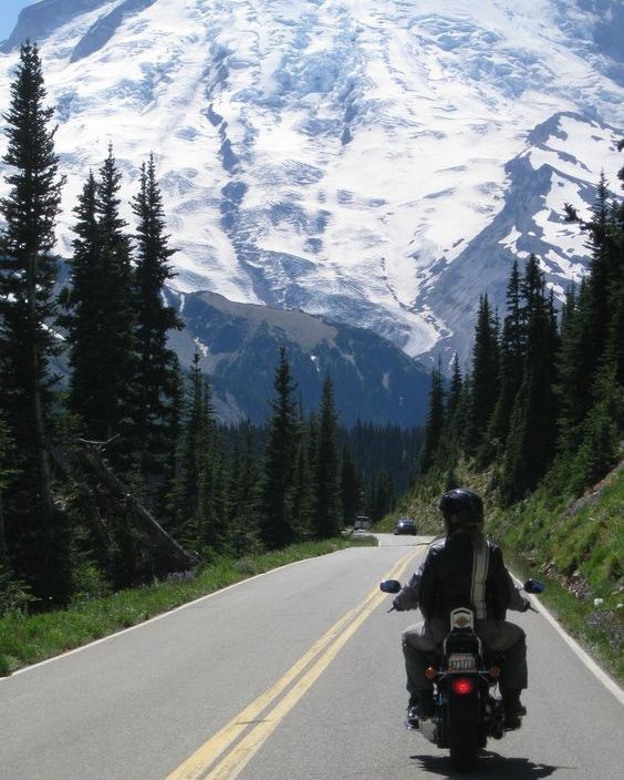 #mtrainier ...an awesome motorcycle ride destination!