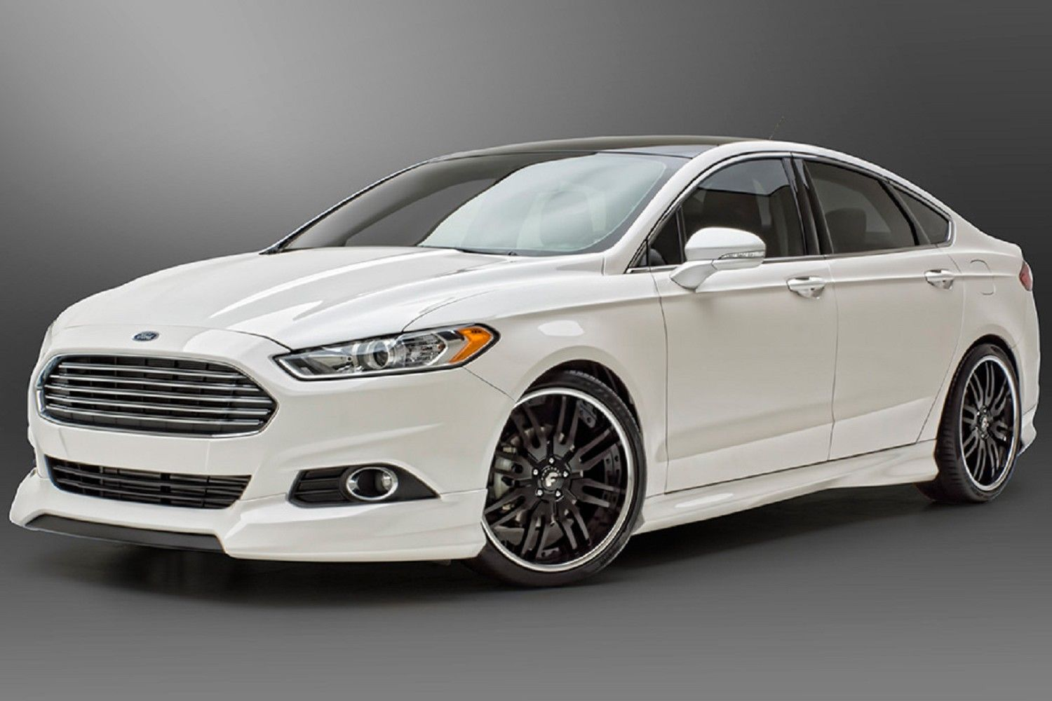 3d Carbon 4 Piece Ford Fusion Body Kit 13 14 692038 With