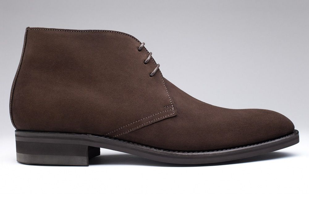 Chukka brown suede suede dress boots mens casual dress