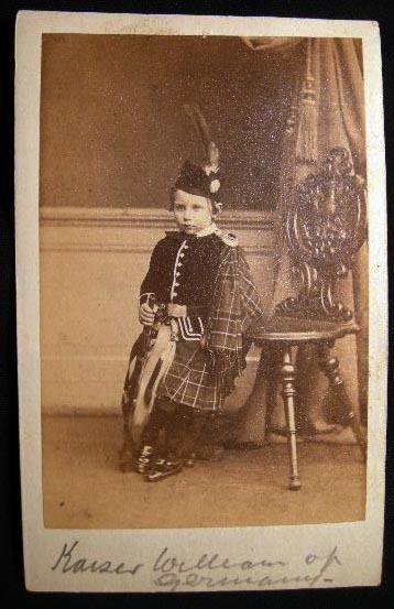 CIRCA 1860 CARTE DE VISITE CDV KAISER WILHELM GERMANY PRINCE OF PRUSSIA GUNTHER