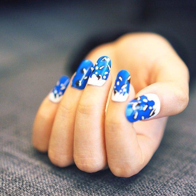 Oreo Nail Art