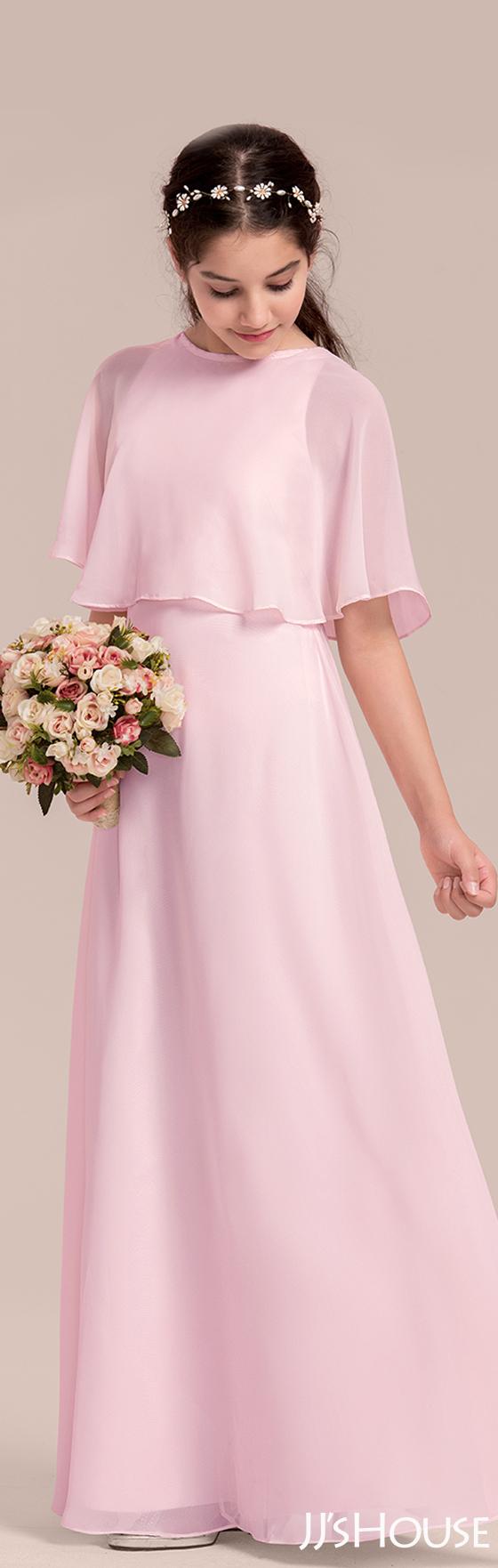cc38c697ce2 Such a gentle color and classic design of a junior bridesmaid dress!   JJsHouse  Junior  Bridesmaid