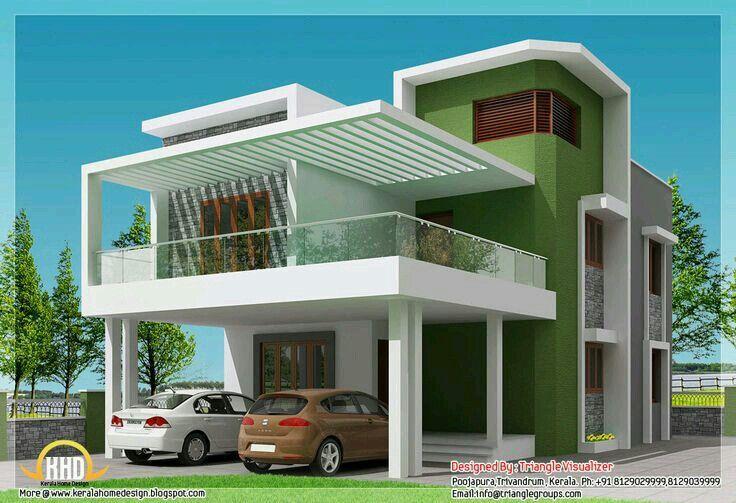 Front Design Of House In Indian Double Story Part - 42: 30X40 HOUSE FRONT ELEVATION DESIGNS Image Galleries - ImageKB.com |  Arquitectura U0026 Decoración De Interiores | Pinterest | Front Elevation  Designs, House ...