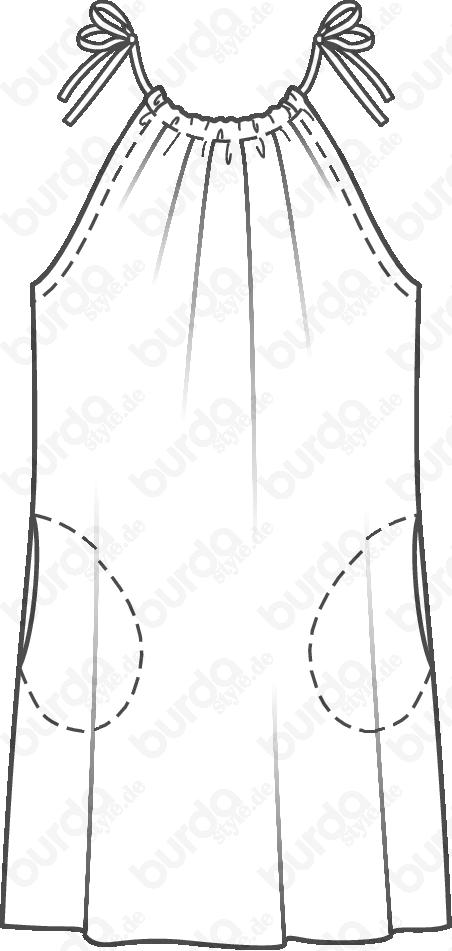 Pin von Sunvale Sunvale auf burda   Pinterest   Neckholder kleid ...