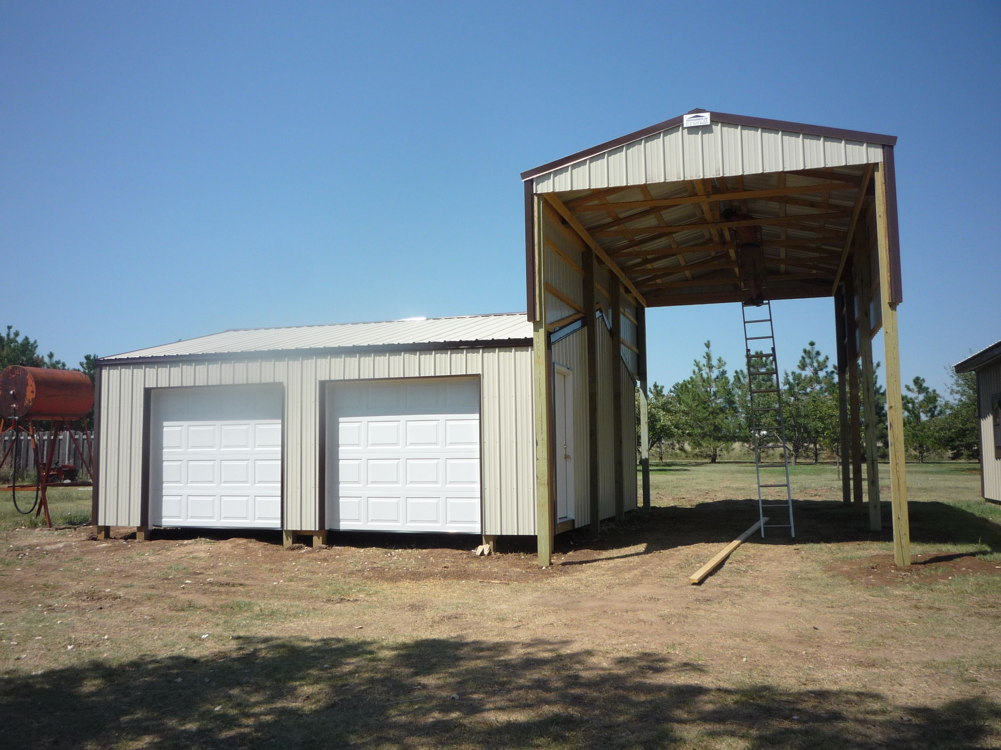 Pole barns butler home improvements pinterest pole for Rv buildings