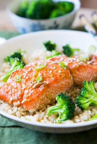 Homemade Salmon Teriyaki Recipe #salmonteriyaki