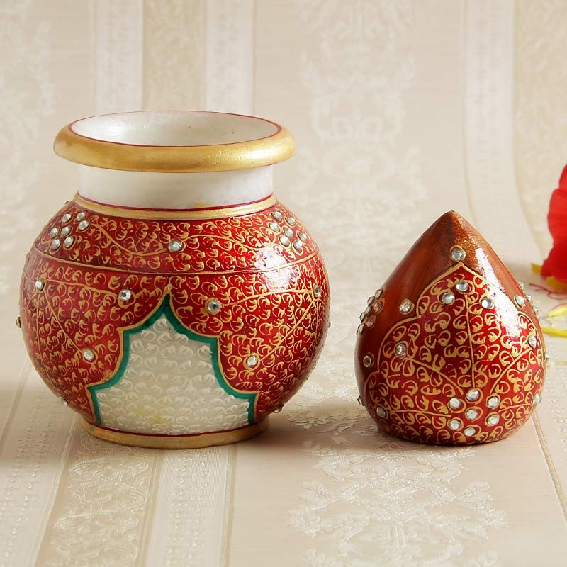 Buy Lota With Coconutpooja Accessories Online Send Gifts To India