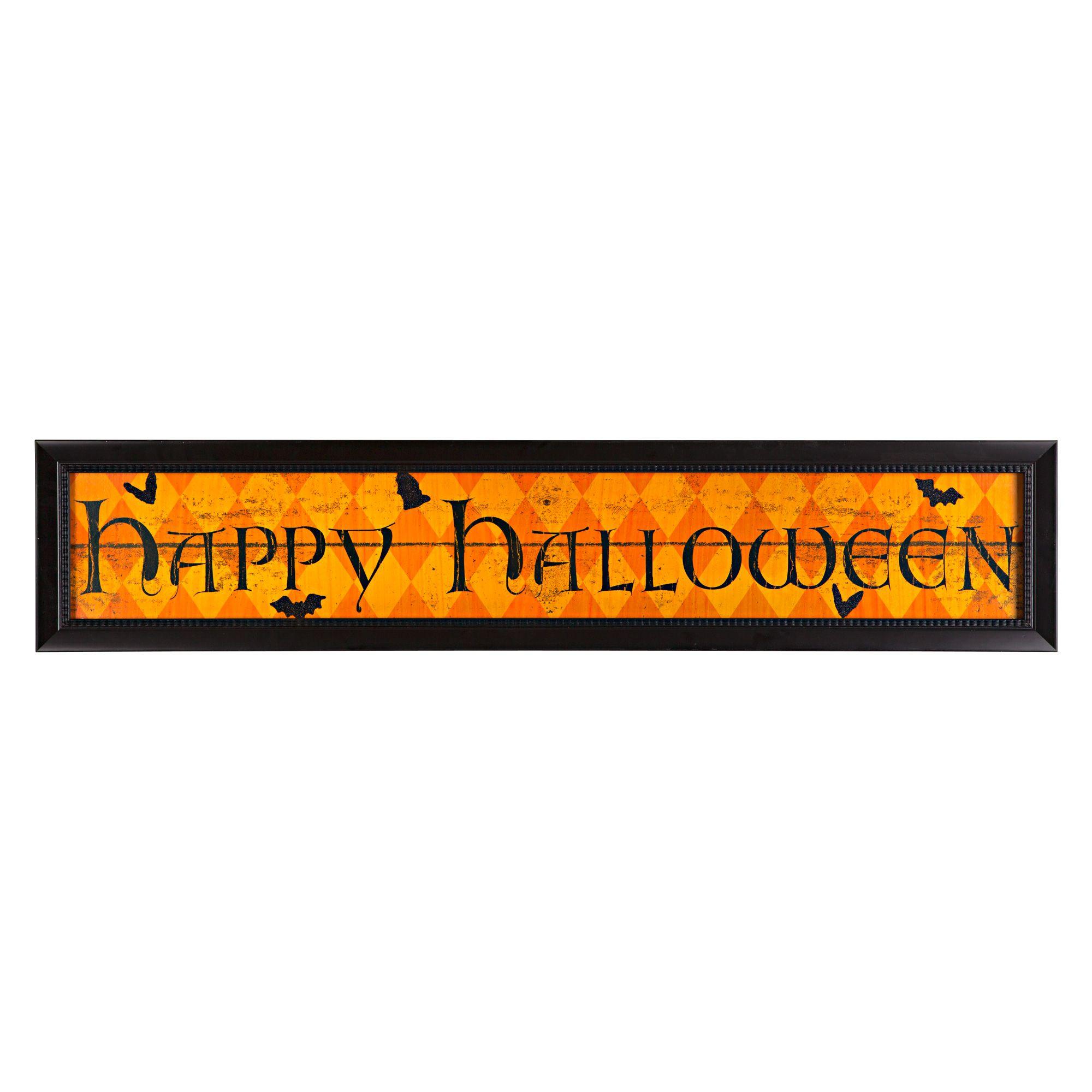 LED Happy Halloween Wall Décor, 36\