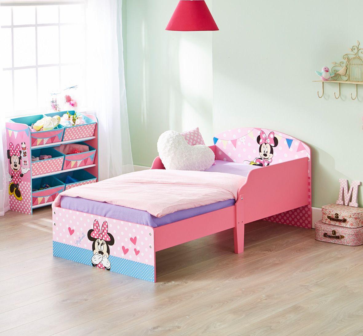 Cama infantil de madera con Minnie Mouse #Disney ideal para realizar ...