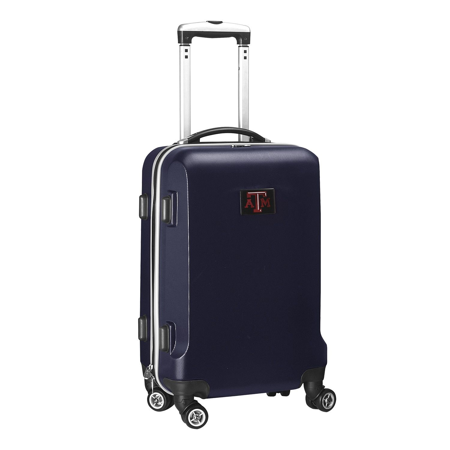 Denco Sports Ncaa Texas A&M Aggies 20-inch Hardside Carry-on Spinner Suitcase