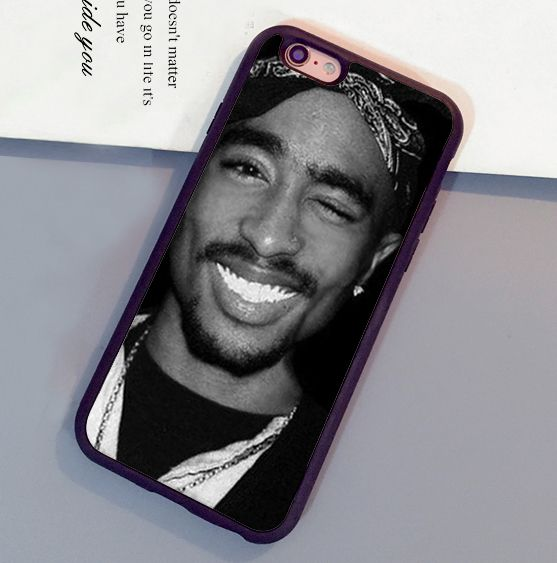 new product 7f851 62a21 2Pac Tupac Shakur Rap Singer Printed Mobile Phone Cases For iPhone 6 ...