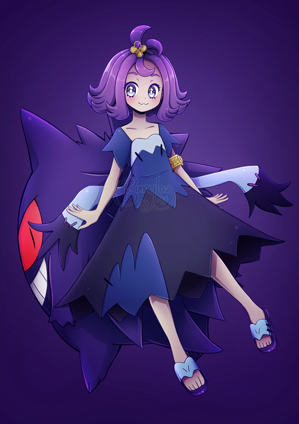 Acerola Pokemon people, Pokemon characters, Acerola pokemon