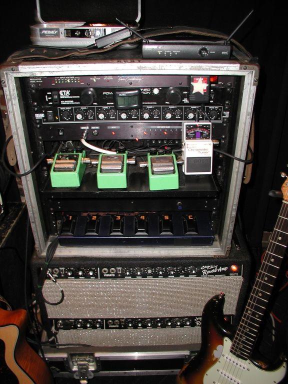 Kelly Richey Guitar Rig in 2001 Sweet Tone Kelly