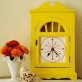 i have this clock....it's so going yellow now...drool