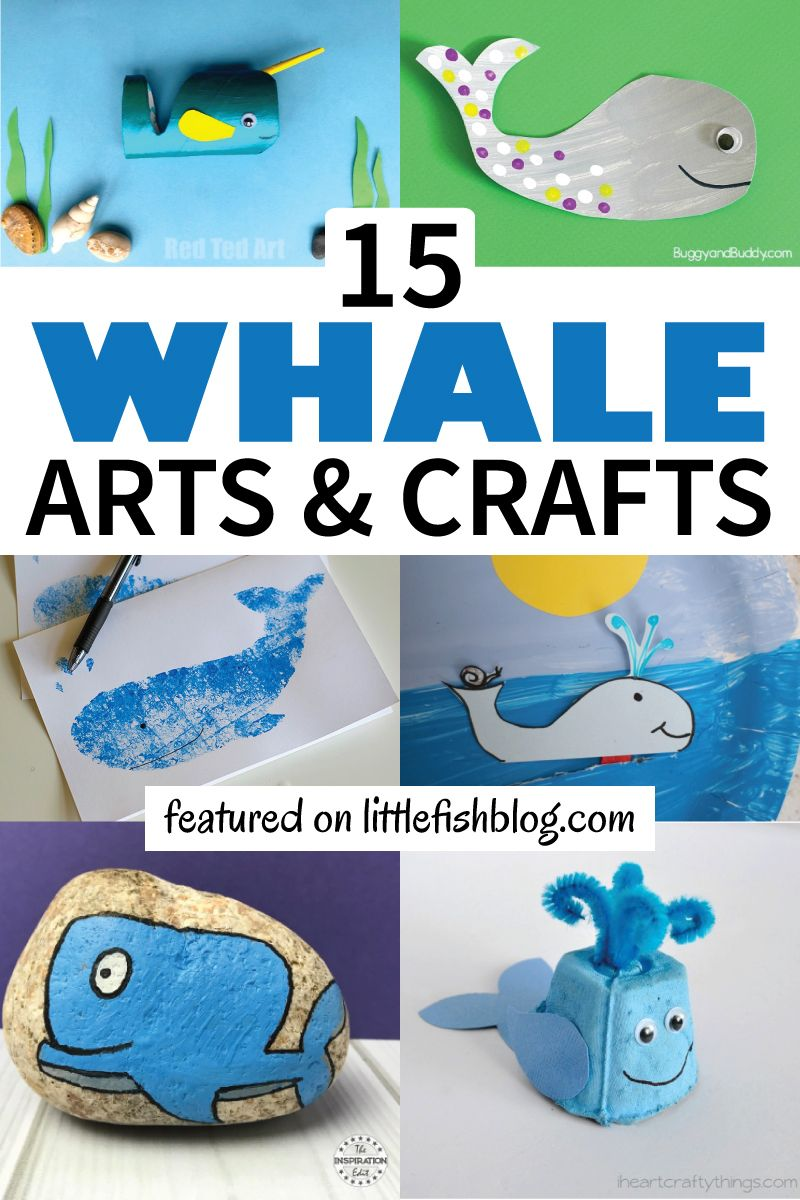 Teen Ocean Themed Bedroom: 15 Whale Themed Arts And Crafts For Kids