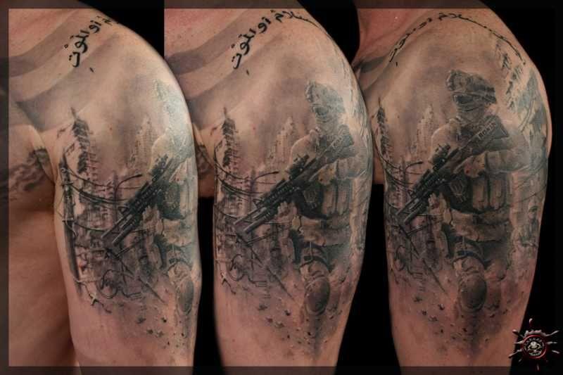 Caesar tattoo nyc marine corps tattoo military tattoos