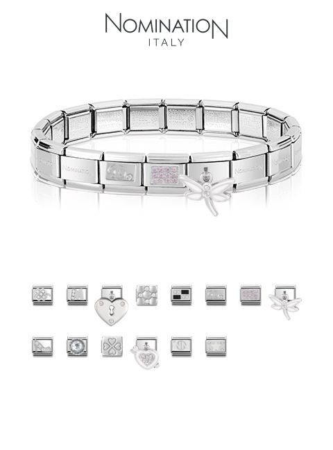 Nomination Bracelets   Charms available at Silver Company! We have stores  in Eastgate Shopping Centre 6c9d156666c4