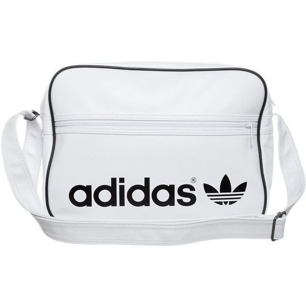880659ee955 adidas Originals AIRLINER Across body bag ($30) ❤ liked on Polyvore  featuring bags, handbags, shoulder bags, fillers, accessories, bags.,  fillers - white, ...