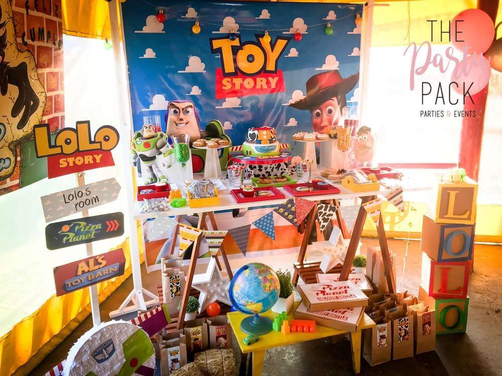 Games To Play At Toy Story Birthday Party : Toy story fiestas