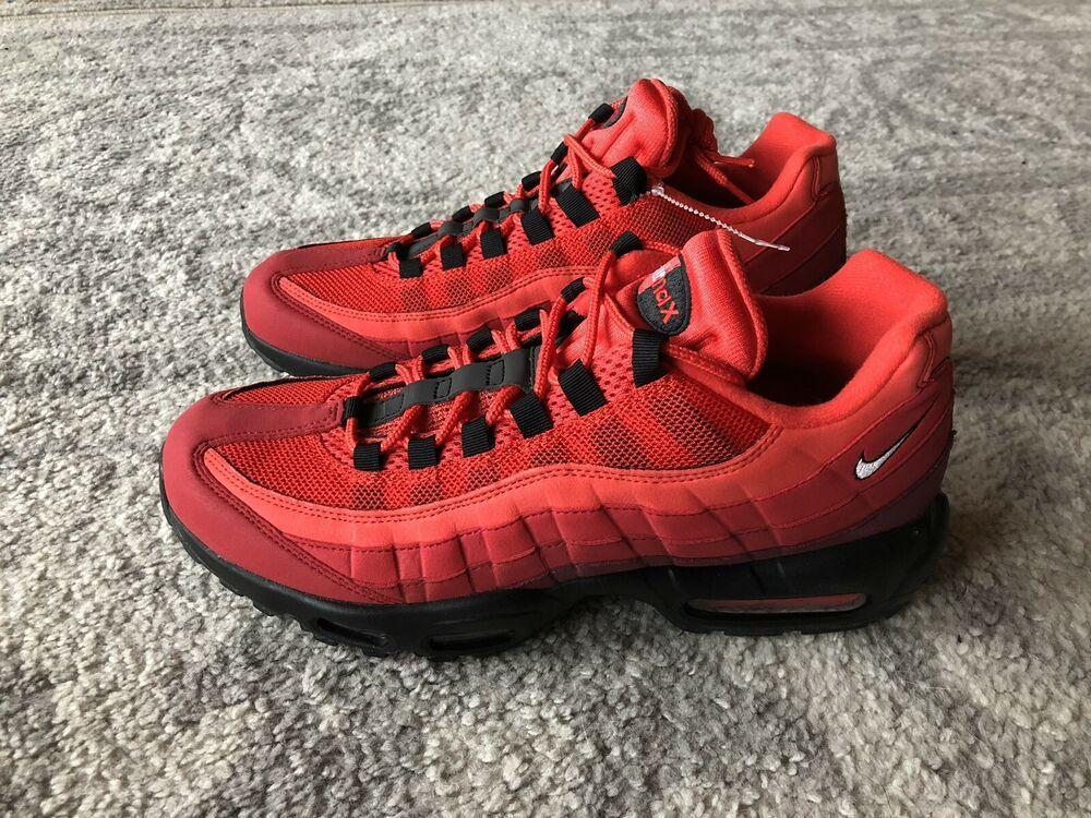 eBay Sponsored) Nike Air Max 95 OG Habanero Red Black