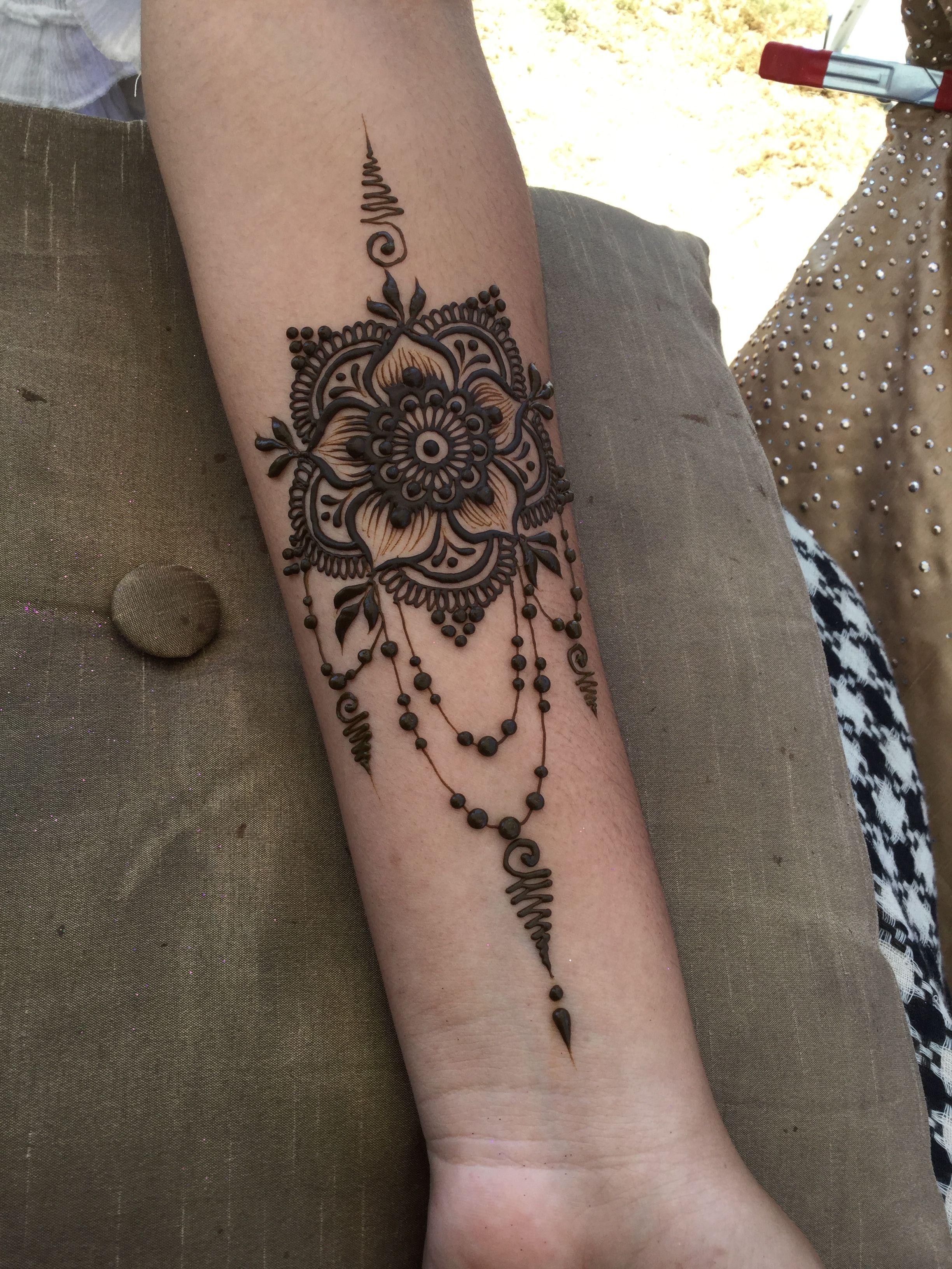 Mandala henna design @gopihenna