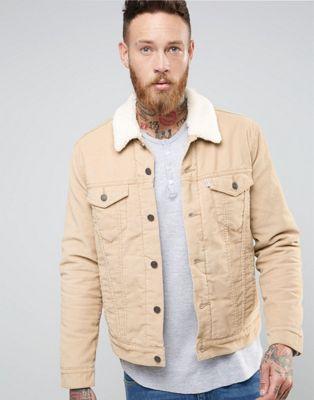 Levi's veste beige trucker