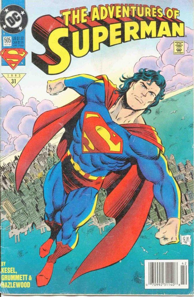 DC Comics - The Adventures of Superman #505