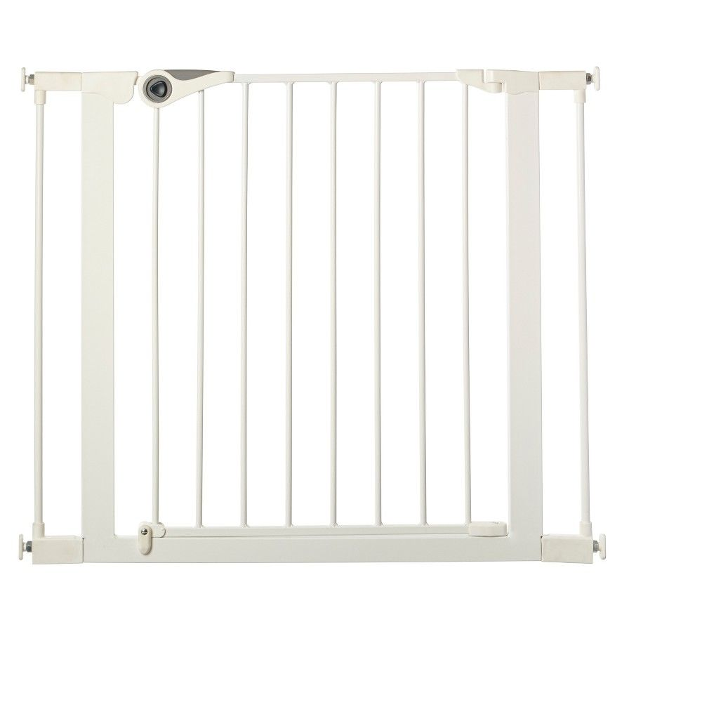 Toddleroo By North States Essential Walk Through Baby Gate White