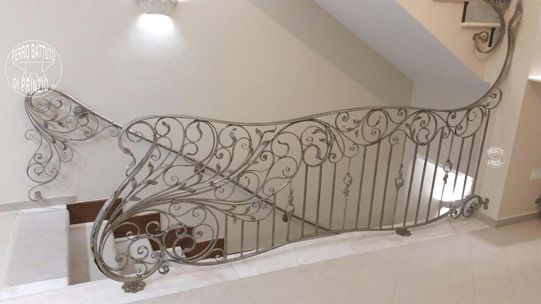 Balaustre interne: in ferro - scale in ferro battuto, ringhiera per ...